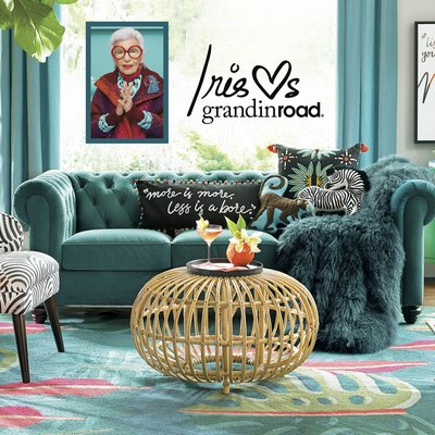 Add Spice to Your Space With Iris Apfel and Grandinroad's Collaboration