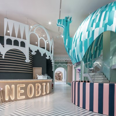 This Restaurant Is the Designer Version of a McDonald's PlayPlace