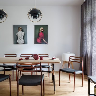 This Polish Apartment Is a Midcentury Dream