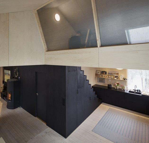 open concept family home