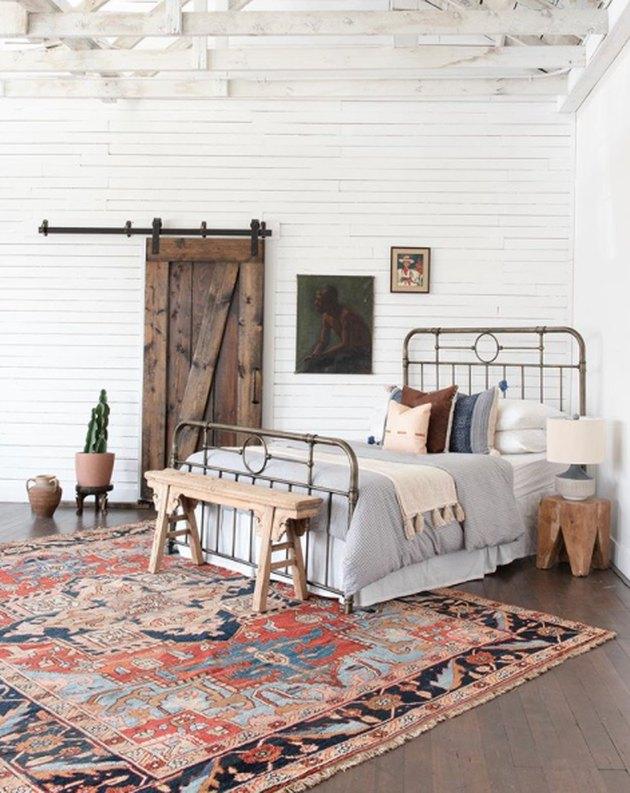 desert themed bedroom with farmhouse and desert themed bedroom