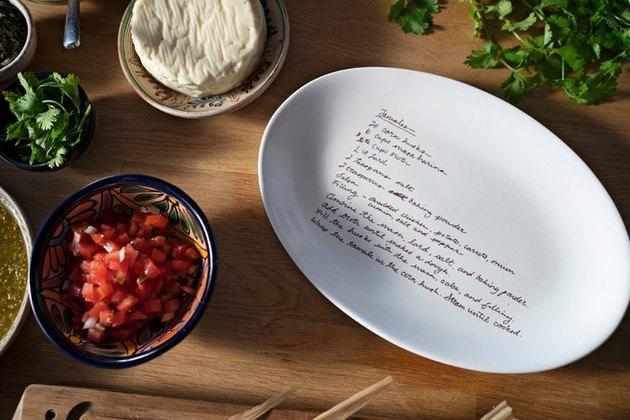 custom recipe dish