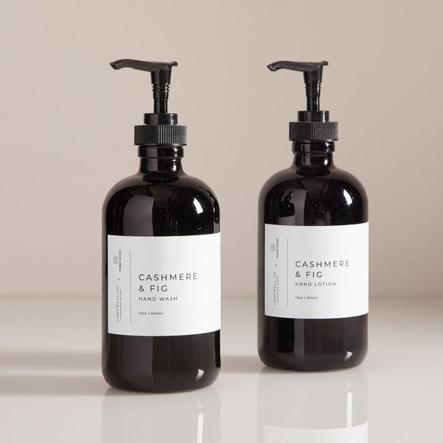 hand soap and lotion