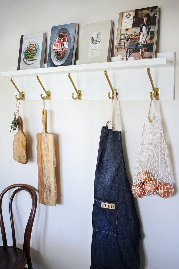 IKEA hack kitchen wall organizer