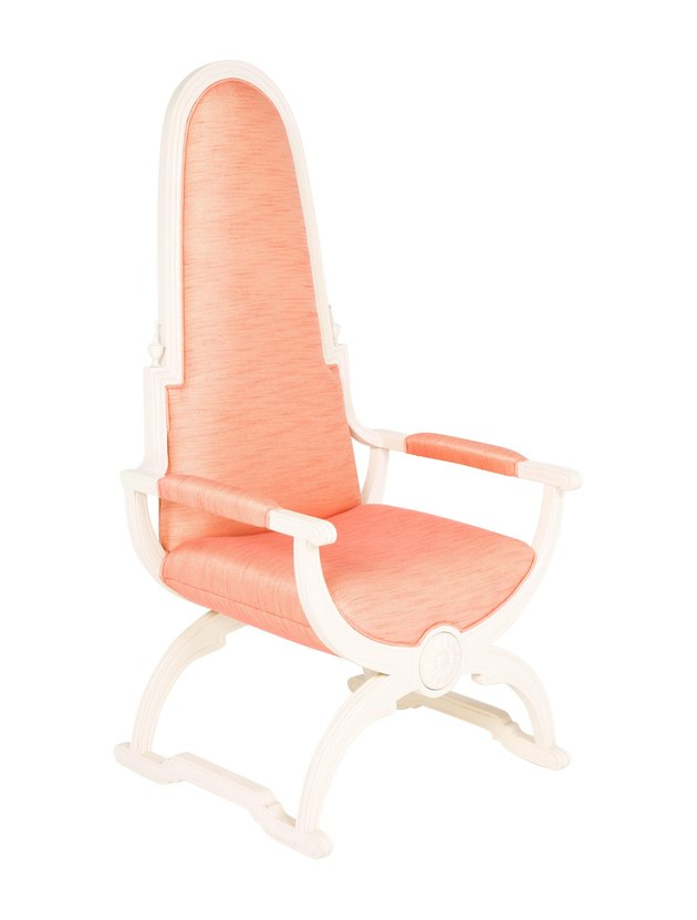 Phyllis Morris Ingenue Throne Chair, $990