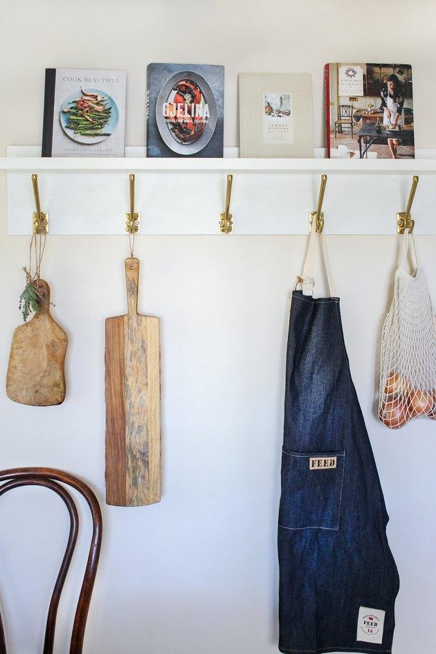 IKEA hack corniche de livre de cuisine