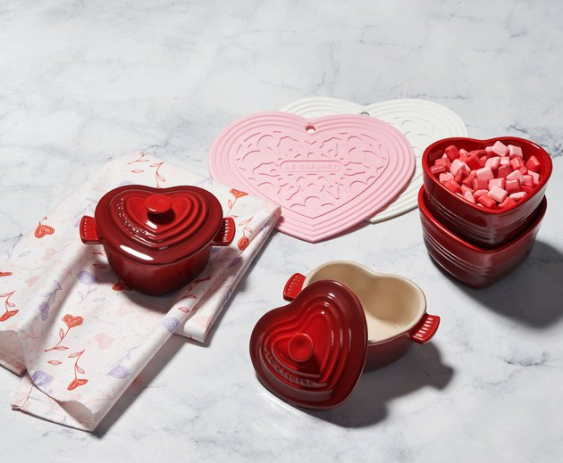 le creuset valentines day collection