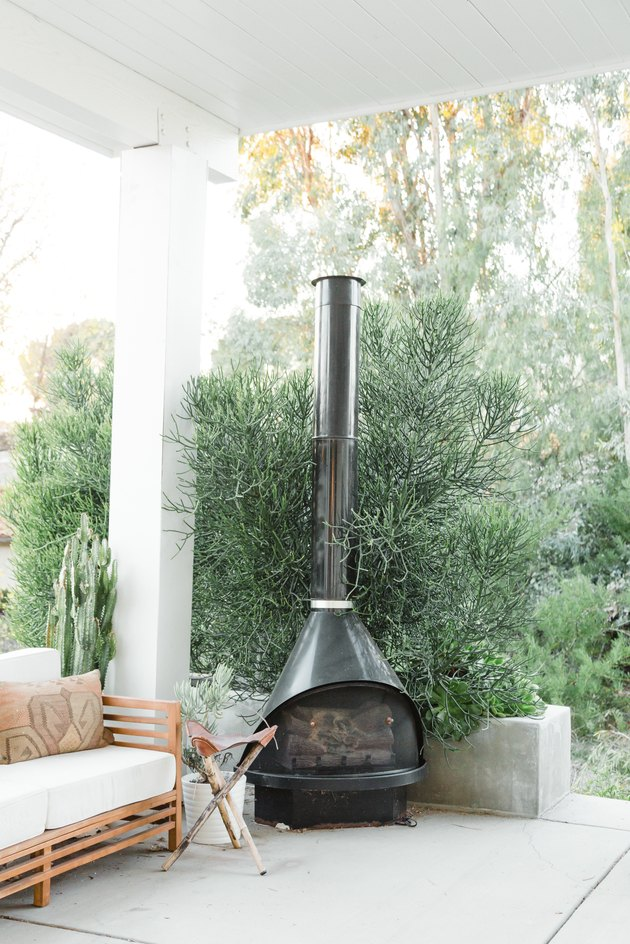 outdoor malm fireplace