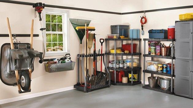 Rubbermaid garage storage system