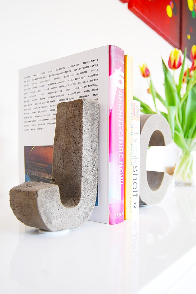 Multipurpose Concrete Letters