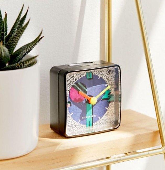 Kikkerland New Wave Alarm Clock, $15