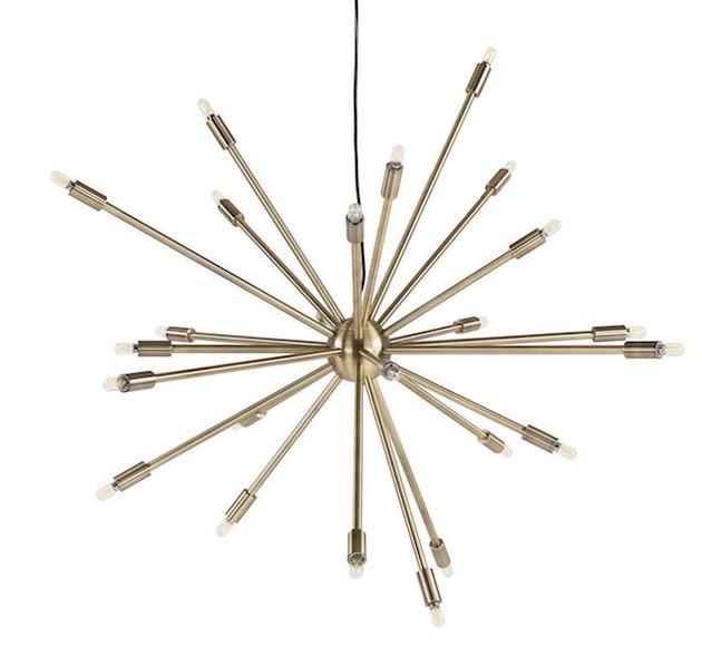mid-century style pendant light