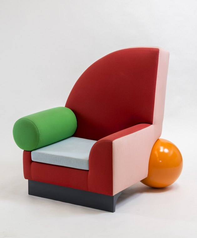Bel Air chair by Peter Shire, Memphis Design style