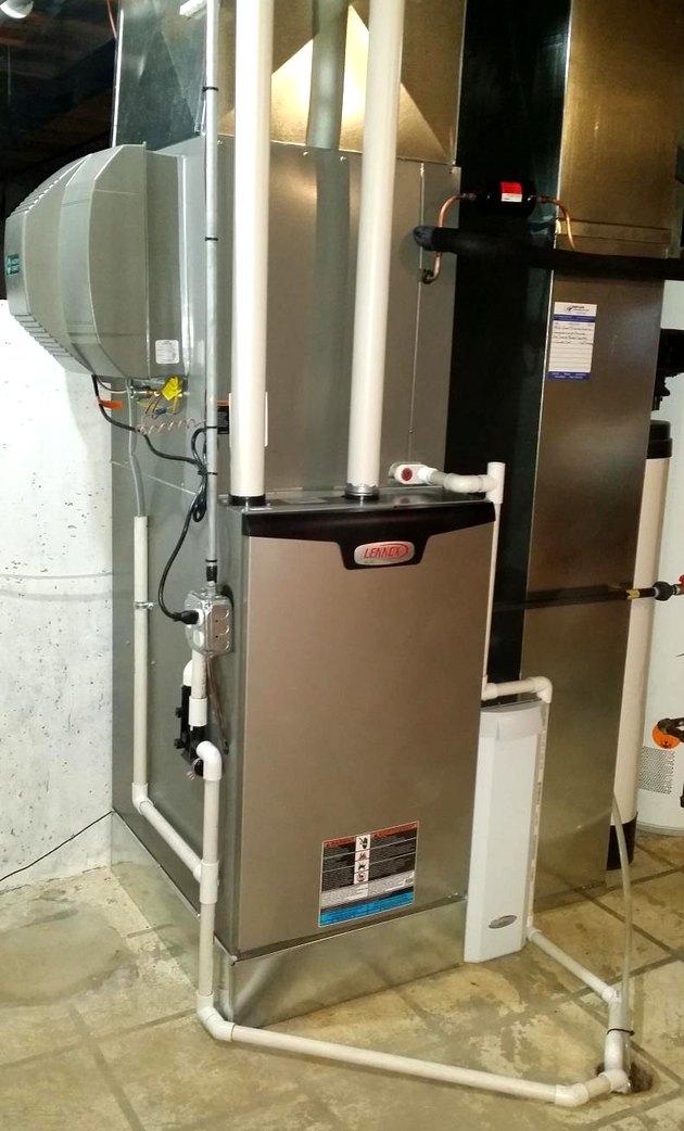 installed furnace