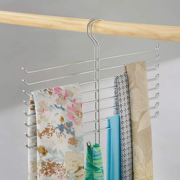 hanging scarf purse tie organizer for small closet