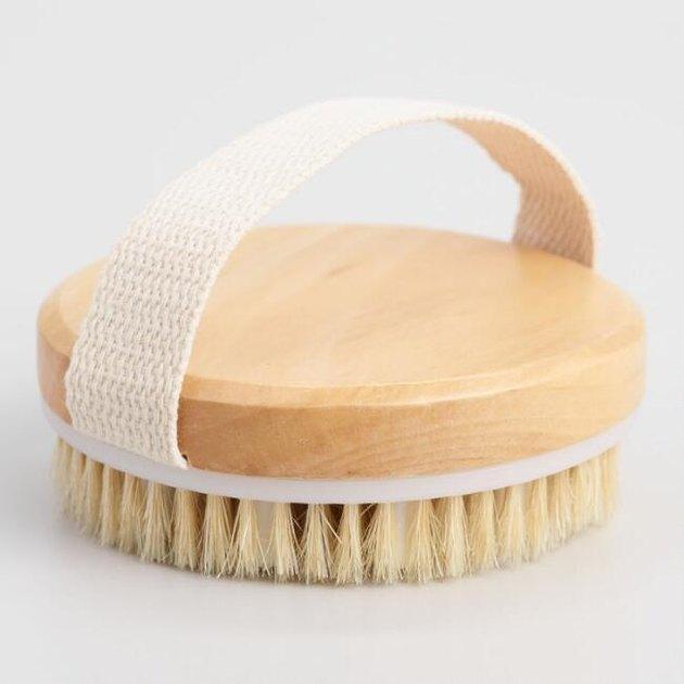 Round Dry Body Brush, $4.99