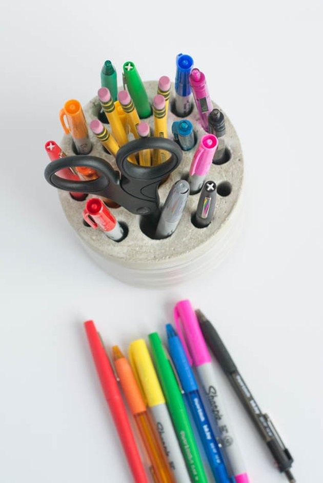 Concrete Pencil and Pen Holder