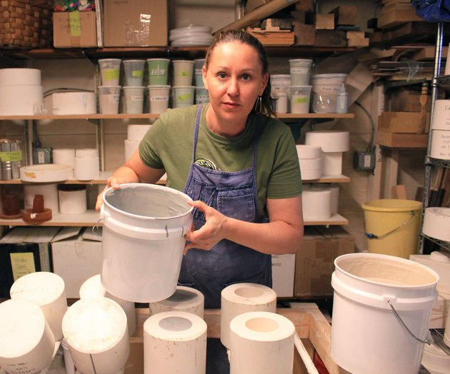 ceramicist Heather McCalla