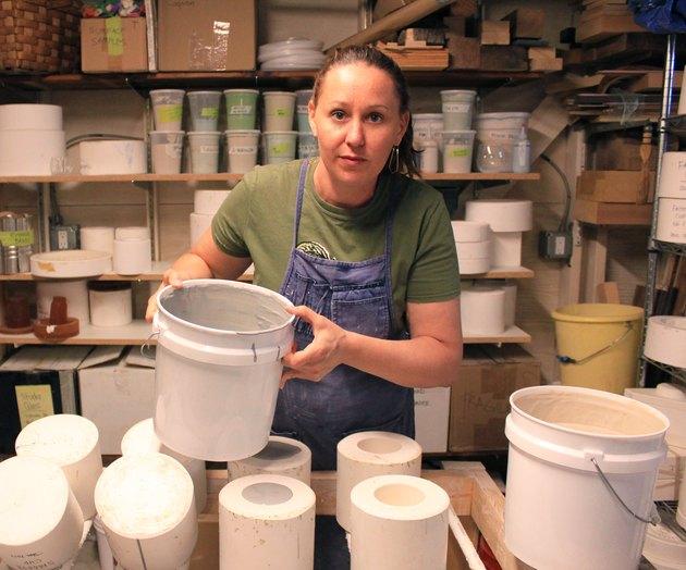 ceramicist Heather McCalla