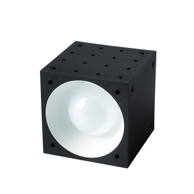 black square LED light