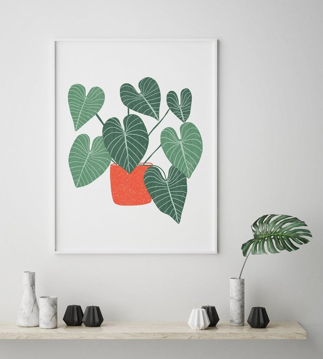 Philodendron No. 1 Print from The Sill's Valentine's Day collection
