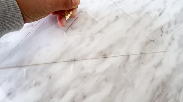 Smoothing contact paper