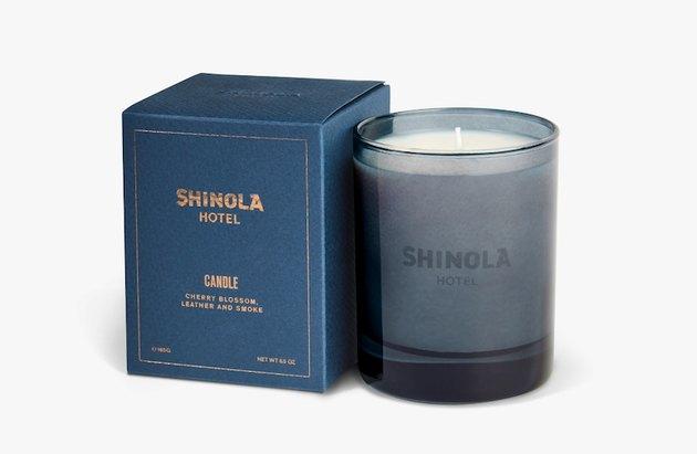 Joya x Shinola candle