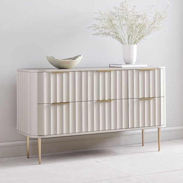 west elm 6-drawer dresser for bedroom storage