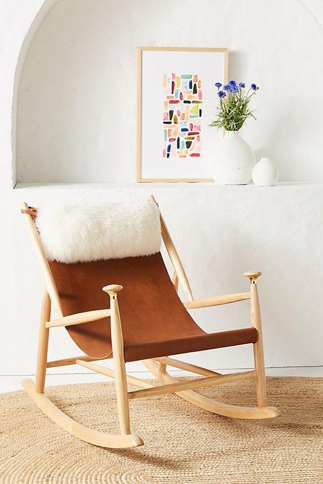 Anthropologie Sydney Rocking Chair, $899.95