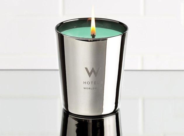 W Hotels Oud Bergamot Candle, $49