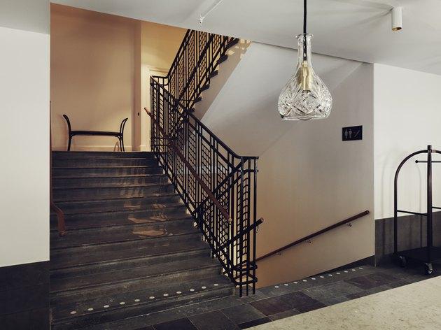 staircase at miss clara