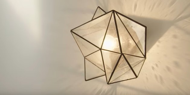 geometric lighting fixture