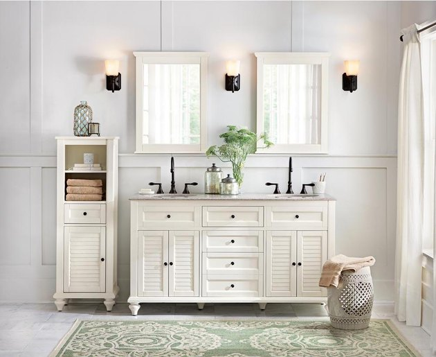 home depot bathroom vanity