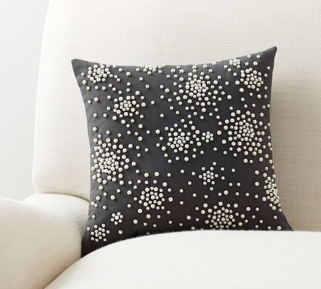 pearl cluster pillow