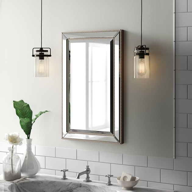 embellished bathroom medicine cabinet