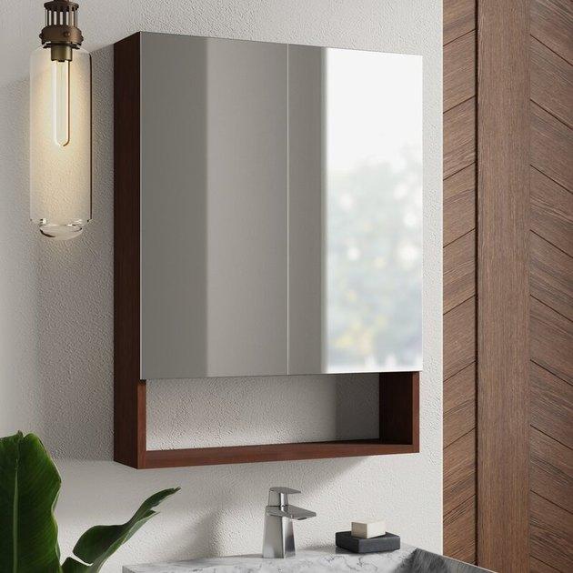 midcentury modern bathroom medicine cabinet