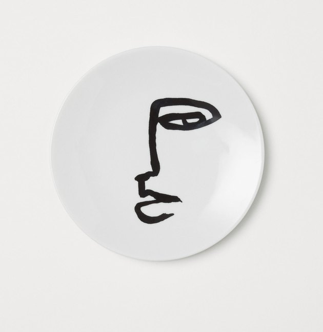 Picasso-inspired Face plate under $25