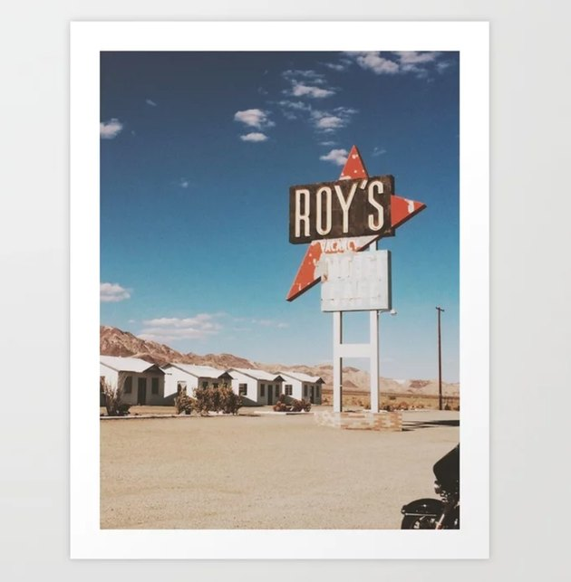 retro photographic poster under $25