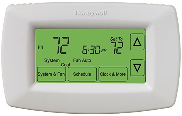Programmable thermostat.