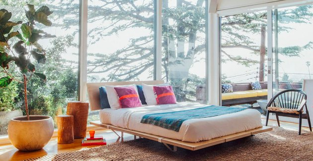 Floyd King Platform Bed With Headboard, $1,150