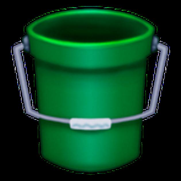 bucket emoji