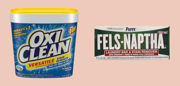 oxi clean and fels naptha