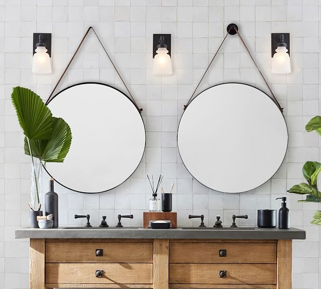 round bathroom mirror ideas