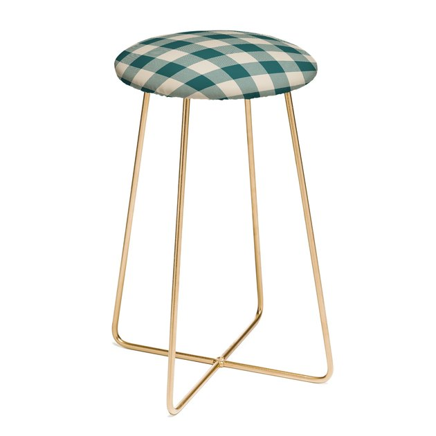 Deny Designs/Zoe Wodarz Plaid Stool, $179