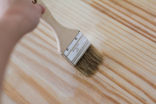 Painting on pre-stain wood conditioner