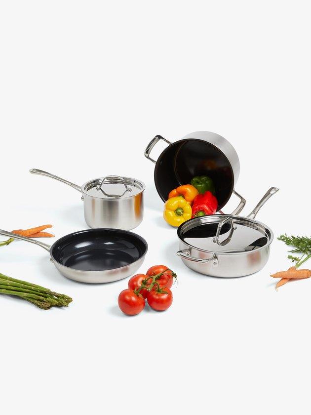 Italic Zest 7-Piece Ceramic Cookware