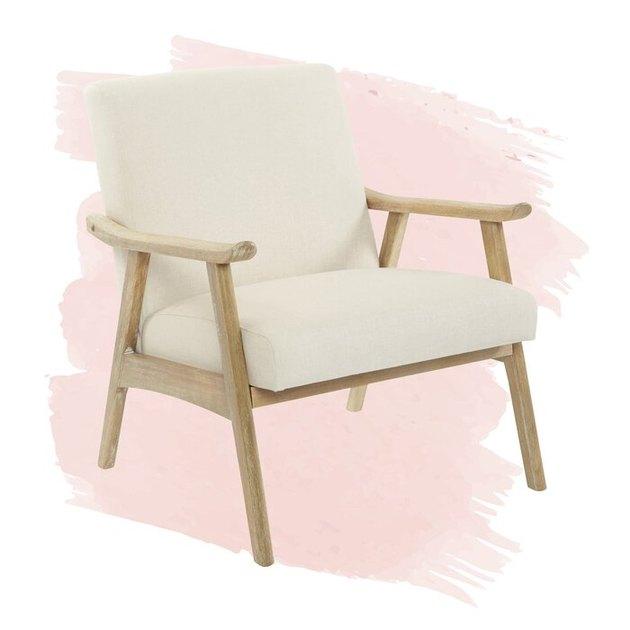 light wood chair
