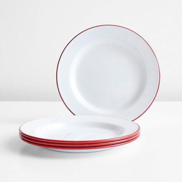 Falcon Enamelware Plates (Set of Four): Was $42, Now $31.50
