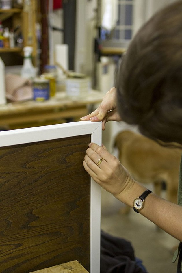 How to Make a Mod Painted Wood Headboard