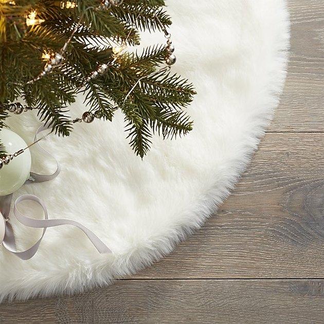 faux fir tree skirt